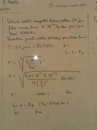 contoh menghitung jarak orbit
